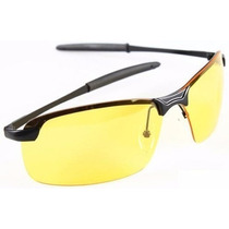 Óculos Vision Dirigir À Noite Lente Amarela Unisex