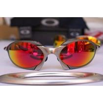 Oculos Romeu X-scared Double X 100% Metal E Polarizado