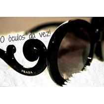 Oculos De Sol Feminino Pradaa Baroque Estilo Barroco