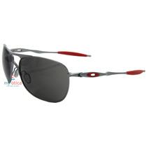 Óculos De Sol Oakley Crosshair Ducati Cinza E Vermelho