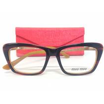 Arma¿¿o De Oculos Fashion De Grau Miu Miu Em Oferta
