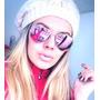 Óculos De Sol Modelo Aviador Rosa Espelhado Frete Grátis