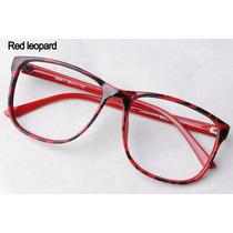Armação Óculos Vintage Retrô Quadrado E Redondo Cor Preto
