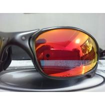 Julliet Ducatti Black Iridium Polarizada+ruby Iridium Oakley