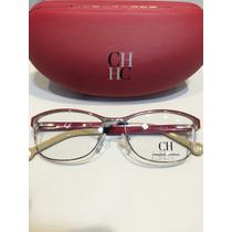 Óculos Receituario Carolina Herrera Vhe 048 Col.oa85-140
