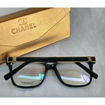 Óculos Armação De Grau Chanell Armação Quadrada