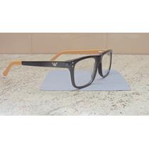 Óculos Armação De Grau Emporio Armani Lançamento