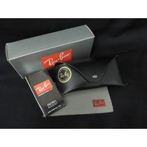 Kit Capa Protetora Case Ray-ban, Flanela, Caixa E Certificad