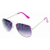 Óculos Feminino De Sol Estilo Ray-ban Aviador