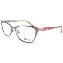 Óculos De Grau Feminino Guess Metal Rosa Antigo