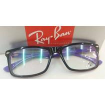 Armação P/óculos De Grau Rb5287 Várias Cores Compre Já A Sua