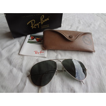 Ray Ban Aviador Outdoorsman Bousch & Lomb Made In Usa, 58 Mm
