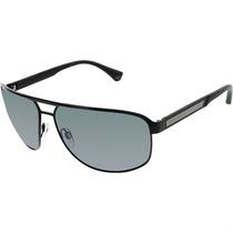 Óculos De Sol Masculino Emporio Armani Metal Preto