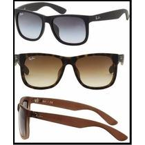 Óculos De Sol Ray Ban Feminino Justin Wayfarer Original