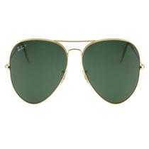 Rayban Aviador 3025 Tamanho 55mm G15 Oculos De Sol Original