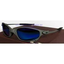 Oculos Juliete Xmetal Lente Blue Magic Polarizada Uv/uva 400