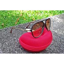 Óculos De Sol Armação Estilo Aviador - Marrom
