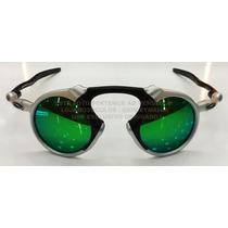 Oculos Madman Plasma Lente Esmeralda Polarizada Uv/uva 40