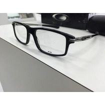 Oculos P/ Grau Oakley Ox1100-0253 Black/gunmetal Original