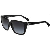 Óculos De Sol Emporio Armani Feminino Acetato Preto