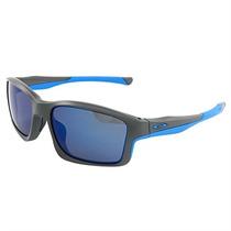 Óculos De Sol Oakley Ice Iridium Chainlink Masculino Matte