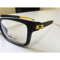 Armação Oculos De Grau Oakley Currency Frete Gratis