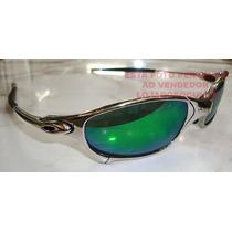 Oculos Juliete Poliched Lente Esmeralda Polarizada Uv/uva400