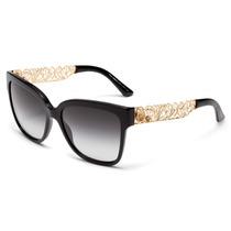 Óculos De Sol Dolce & Gabbana Dg4212 501/8g - Tam.: 56 Mm