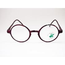 Armação Para Óculos Estilo Potter/lennon Fibra Vintage