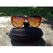 Óculos De Sol Modelo Gatinho - Tartaruga