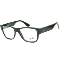 Armação Para Óculos De Grau Ray Ban Rb 7028 Retrô Masculina