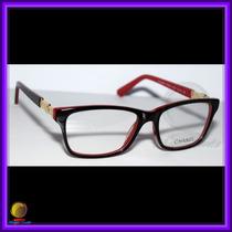 Óculos De Grau, Armação, Preto E Vermelho, Chanel 3356