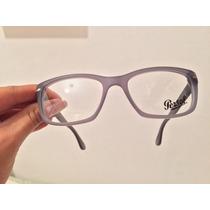 Óculos Persol Italiano Comprado Em Roma 989 Matte Cinza 54mm