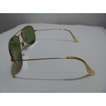 Óculos Ray-ban Aviador Anos 70/80 By Bausch & Lomb Ouro 12k