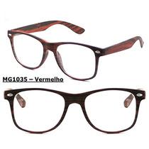 Armação Óculos De Grau Modelo Vintage Retro Unissex