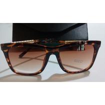 Óculos Fem Gucc Com Proteção Uv + Brinde !!