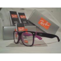Armação Óculos De Grau Rayban Wayfarer Masculino Feminino