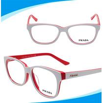 Armação Oculos P/ Grau Feminino Acetato Importado - Promoção