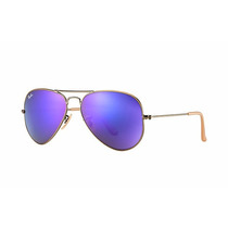 Ray Ban Aviador Rb3025 167/1m Violet Mirror Novo Original