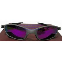 Oculos Juliete Xmetal Lente Violetas Polarizada Uv/uva400