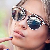 Óculos De Sol Feminino Estilo So Real Thássia Navesdescrição