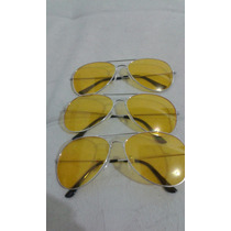 Óculos Aviador Night Drive - Pronta Entrega!!!