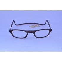 Óculos Leitura Armação Marrom Magnética +1,5