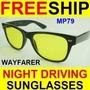 Óculos Night Drive Wayfarer Para Dirigir Noite Frete Grátis