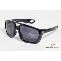 Óculos De Sol Spy Original Mod Pepper 69 Preto Lente Escura