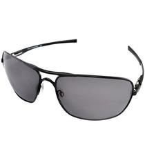 Óculos Oakley Plaintiff Squared Polished Black/warm Grey New