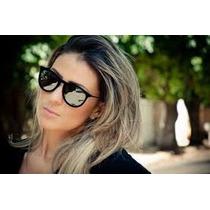 Óculos De Sol Erika Velvet Rayban Veludo Espelhado Frete Grt