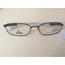 Óculos Adidas A623 6058 - Com Clipon E Lente Polarizada