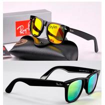 Óculos Rayban Wayfarer 2140 Espelhado - Promoção Verão