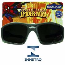 Óculos Sol Spider Man Homem Aranha Disney Infantil Criança